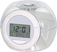 TRIXES Colour Changing Digital Alarm Clock with 7 Colour LED and 6 Nature and Countryside Sounds
