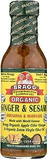 Bragg, Organic Ginger & Sesame Dressing, 12 oz