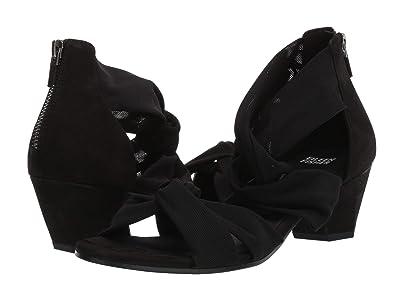Eileen Fisher Joy (Black Stretch Mesh) High Heels
