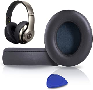 Professional Replacement Ear Pads Cushions, Earpads Compatible with Beats Studio 2.0 & 3 Wired/Wireless with Soft Protein ...