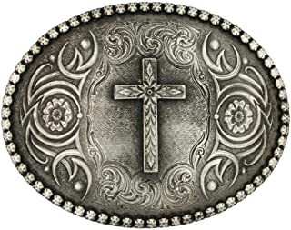 Best mens western belts with crosses Reviews