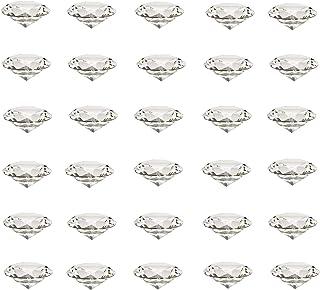 Etern 30PCS 20mm Diamante Sintetico, Artificiale Diamante Cristallo, Pietra Diamante Cristallo Fermacarte, per Decorazioni...