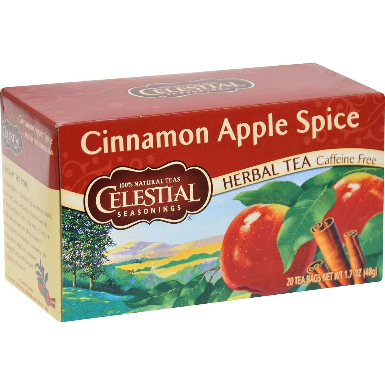Detroit Mall Celestial Seasonings Tea supreme Apple Cinnamon Herb