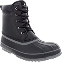 London Fog Mens Ashford Waterproof and Insulated Duck Boot