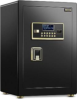 ADIMO Safe Box 60 - Safe Cabinet with Digital Keypad and Key Lock, 1.96 Cf Safe Lock Box, Built In Cabinet Box, Double Key...