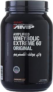 Gnc Amplified Wheybolic Extreme 60, Chocolate - 3 LB