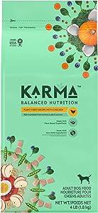 KARMA, environmentally-friendly, natural adult dry dog food