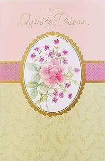 Para Mi Querida Prima - Feliz Dia de las Madres Happy Mother's Day Greeting Card for Cousin in Spanish Espanol -