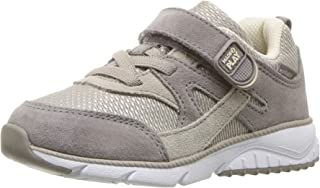 Stride Rite Baby Ace Boy's and Girl's Premium Leather Sneaker, tan, 7.5 W US Toddler