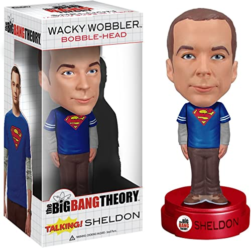 [UK-Import]Big Bang Theory Talking Sheldon Cooper Bobble Head