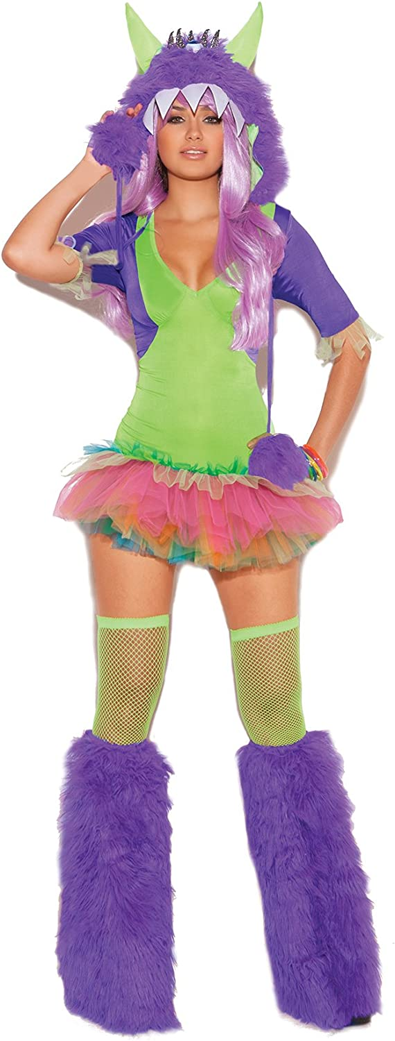 Women's Sexy Punky Monster Adult Play Costume Limited Max 66% OFF time cheap sale Role