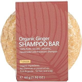 Shampoo Bar Hair Conditioner Natural Plant Extract Essential Oil Hair Shampoo Soap Nourish Scalp Hair Loss Treatments(Ginger)