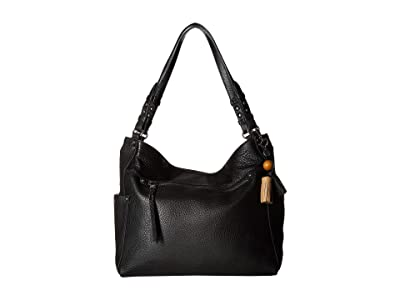 The Sak La Mesa 4 Poster Tote (Black) Tote Handbags