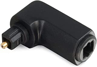 C2G/Cables to Go 40016 Velocity Right Angle Toslink Port Saver Adapter, TAA Compliant