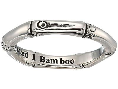 John Hardy Bamboo Slim Ring (Silver) Ring