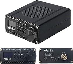 ラジオ受信機SI4732全帯域FM AM MW&SW SSB(LSB&USB)内蔵バッテリー+アンテナ+スピーカー+シェル