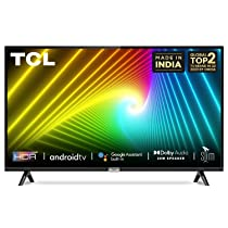 [Axis/Citi/Indusind Credit Card User] TCL 100 cm (40 inches) Full HD Certified Android Smart LED TV 40S6500FS (Black) (2020 Model)