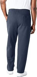 Men's Big & Tall Fleece Open-Bottom Sweatpants