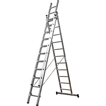 Escalera multifuncion 5.78 mtrs. marca Pro-Steps: Amazon.es: Hogar