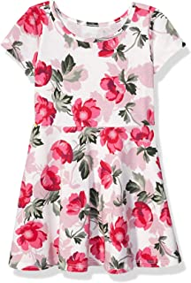 The Children's Place Baby Girls' Short Sleeve Pleated Dress