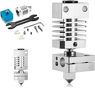 All Metal Hotend Kit for Creality CR-10 / CR10 / CR10S / Ender 2 / Ender 3 Ender 5 Printers .4mm