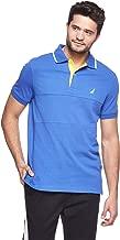 Nautica Short Sleeve Polo T-Shirt for Men - Blue