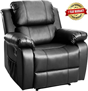 Merax Massage Recliner Chair with Heat and Massage Heated Vibrating Massage Recliner