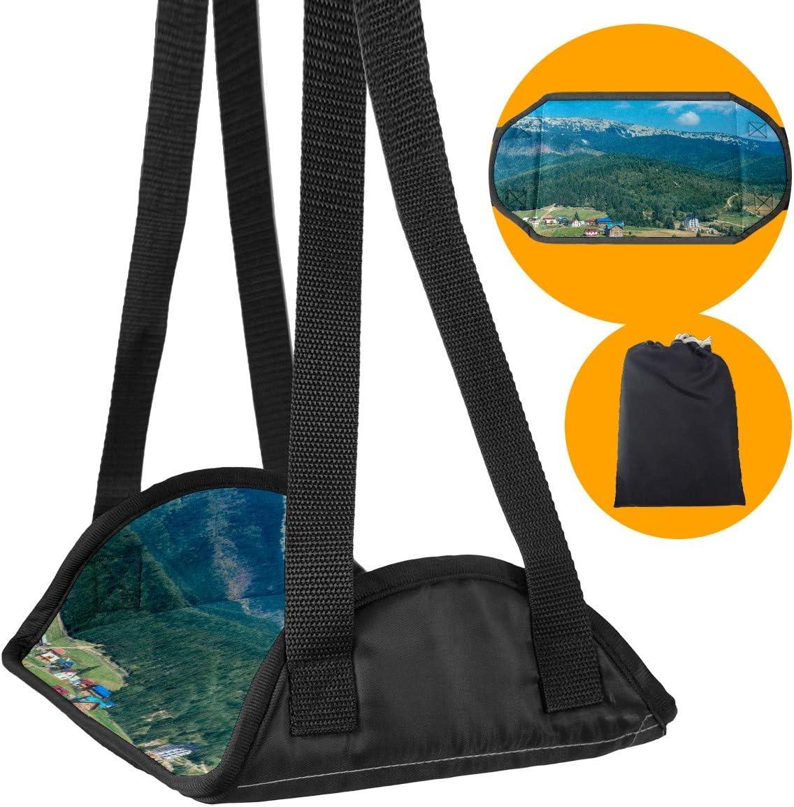 Foot Hammock Desk Footrest Comfy Portable 1 year warranty Hanger,Mountain Max 61% OFF