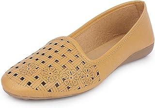 YAHE Women's Casual Led Napa Ballerina Shoes Y-704