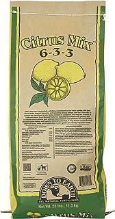 Down To Earth Organic Citrus Fertilizer Mix 6-3-3, 25 lb