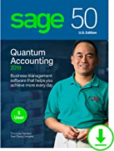 Sage 50 Quantum Accounting 2019 – Small Business Accounting Management Software – Payment and Inventory Management – Safe and Secure – Easy Integration with Microsoft Productivity Tools