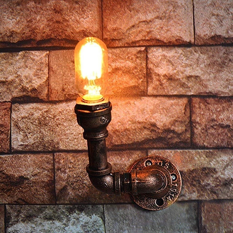 Wall Light Home Die Wasserpfeifen-Wandleuchte Die Wandleuchte kann kombiniert Werden. Eisen-Hngelampen Lampen Manuelle Dekoration des Kreativen Modus (Größe   A)