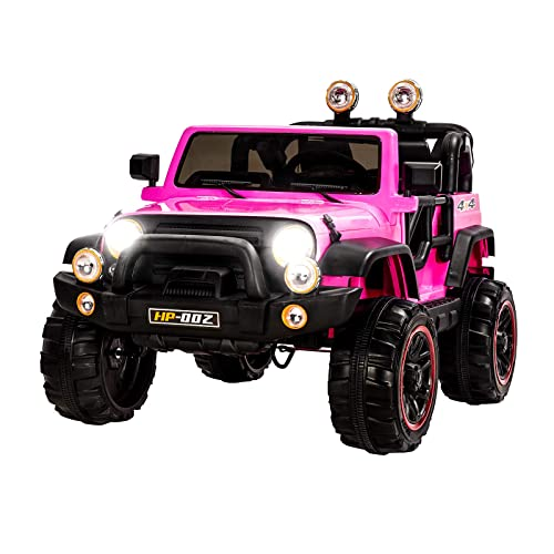 Uenjoy Ride On Cars 12V Childrens Electric Motorized For Kids With Remote Control