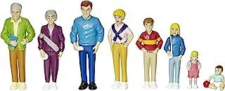 Marvel Pretend Play Family - Caucasian Dolls - Set of 8, 1 L x 2 W x 5 H in