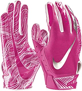 NIKE Adult Vapor Jet 5.0 Breast Cancer Awareness Receiver Gloves 2018 (Pink, Large)