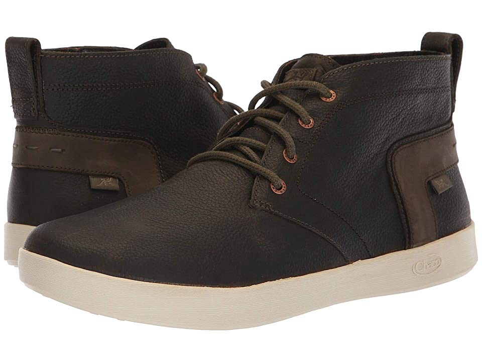 Chaco Davis Mid Leather (Forest) Men