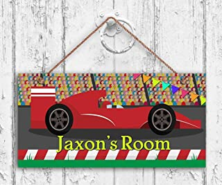 MAIYUAN Race Car Sign, Race Track Boys Room Sign,...
