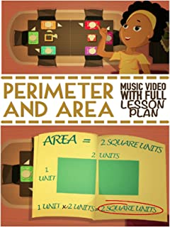 Perimeter & Area Song For Kids: Educational Math Learning Music Video