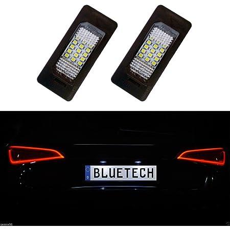 Bluetech Led Kennzeichenbeleuchtung Kennzeichenleuchte Xenon Optik Auto