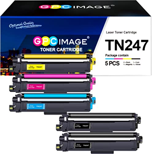 GPC Image Cartouche de Toner TN247 TN243 Compatible pour Brother TN-247 TN-243 pour Brother DCP-L3550CDW DCP-L3517CDW...