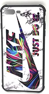 WeTheFounders Nike Silicon Case for iPhone 7 8 X XS XR and Galaxy S10 White Sneaker Phone Case Dual Layer Protection Scratch Proof Shock Proof (Galaxy S10)