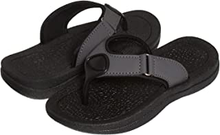 Skysole Boys Rugged PU Ring Thong Strap Sandals (See More Colors and Sizes)
