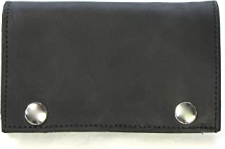 Legacy Leather Goods Men's XL Tri-Fold Chain Wallet Mens