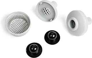 Intex Small Pool Strainer Connector Set 2 Inlets 1 Directional 3 Black Plugs
