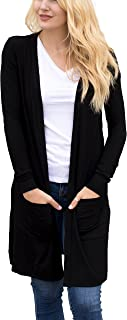 Women's Soft Long Sleeve Pocket Cardigan
