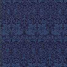Moda Fabrics V and A Morris Garden Indigo Brother Rabbit 1882