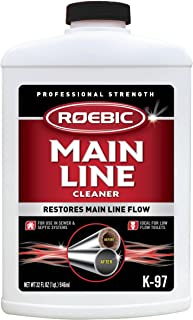 Roebic K-97 Main Line Cleaner, Exclusive Biodegradable Bacteria Digests Paper, Fats, and Grease in Sewer and Septic System...