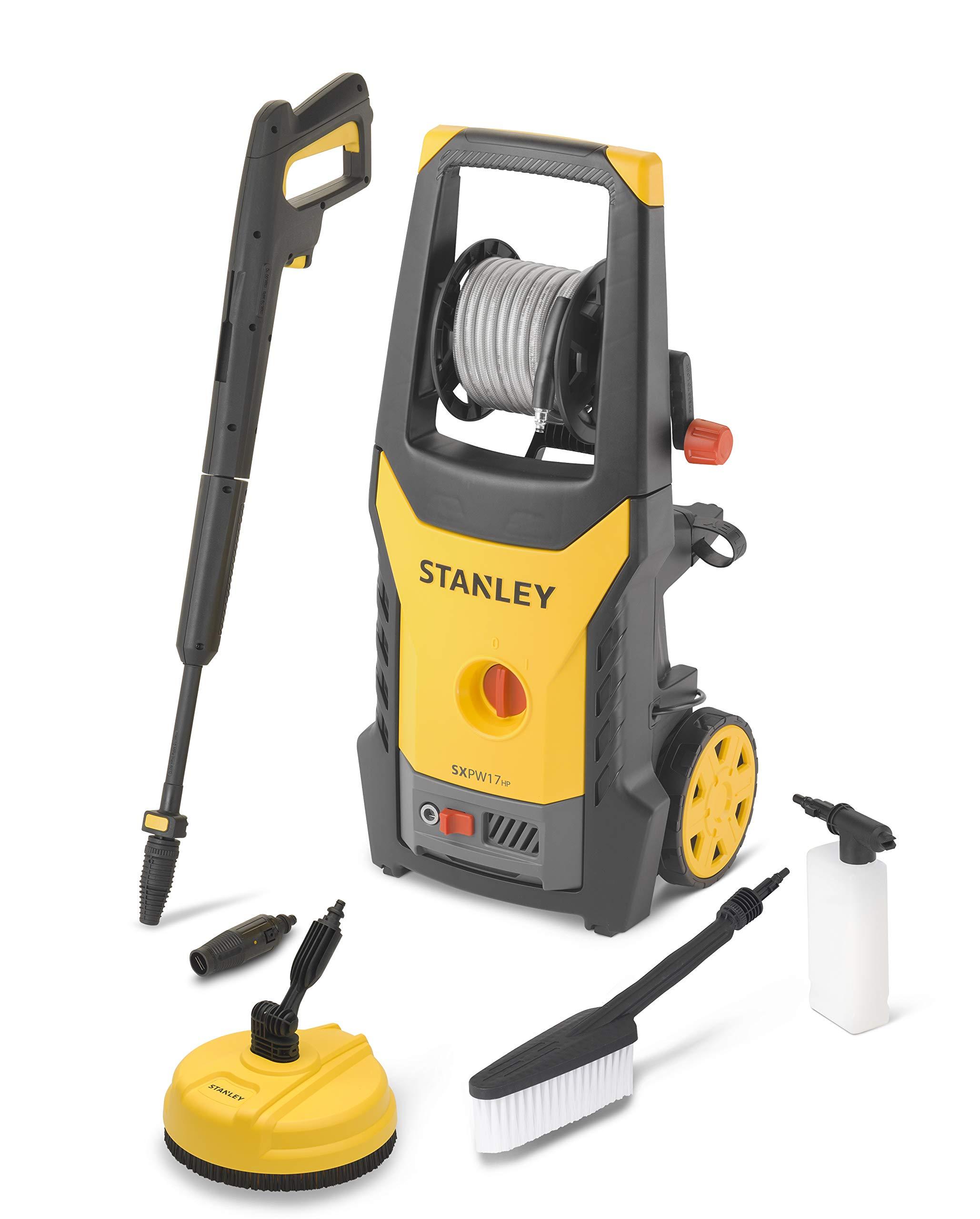 Stanley SXPW17HPE Hidrolimpiadora de alta presión, 1700 W: Amazon ...
