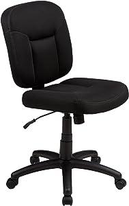 AmazonBasics - Sedia da ufficio con schienale basso