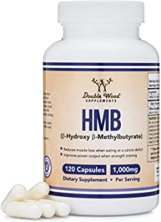 HMB Supplement, Third Party Tested, for Muscle Recovery, Growth, and Retention (Protein Synthesis) - Made in USA, 120 Caps...
